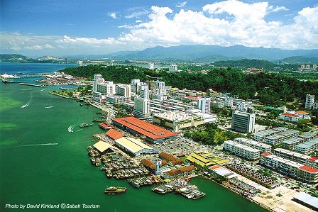 Kota Kinabalu - a bustling gateway into the heart of Borneo